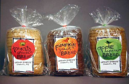 Past Graphic Design One Examples: Bread Packaging